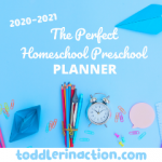 THE BEST HOMESCHOOL PRESCHOOL DAILY SCHEDULE