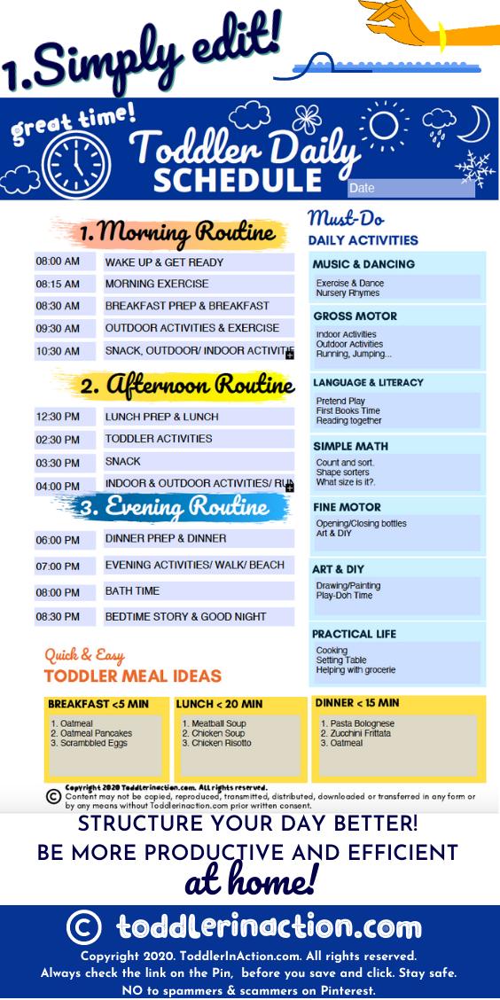 Indoor Daily Schedule