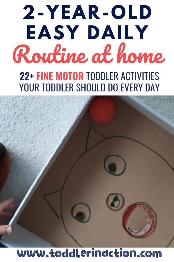 toddler activities fine motor skills