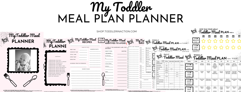 Easy, Healthy Toddler Meal Recipes, Toddler Meal Plan
