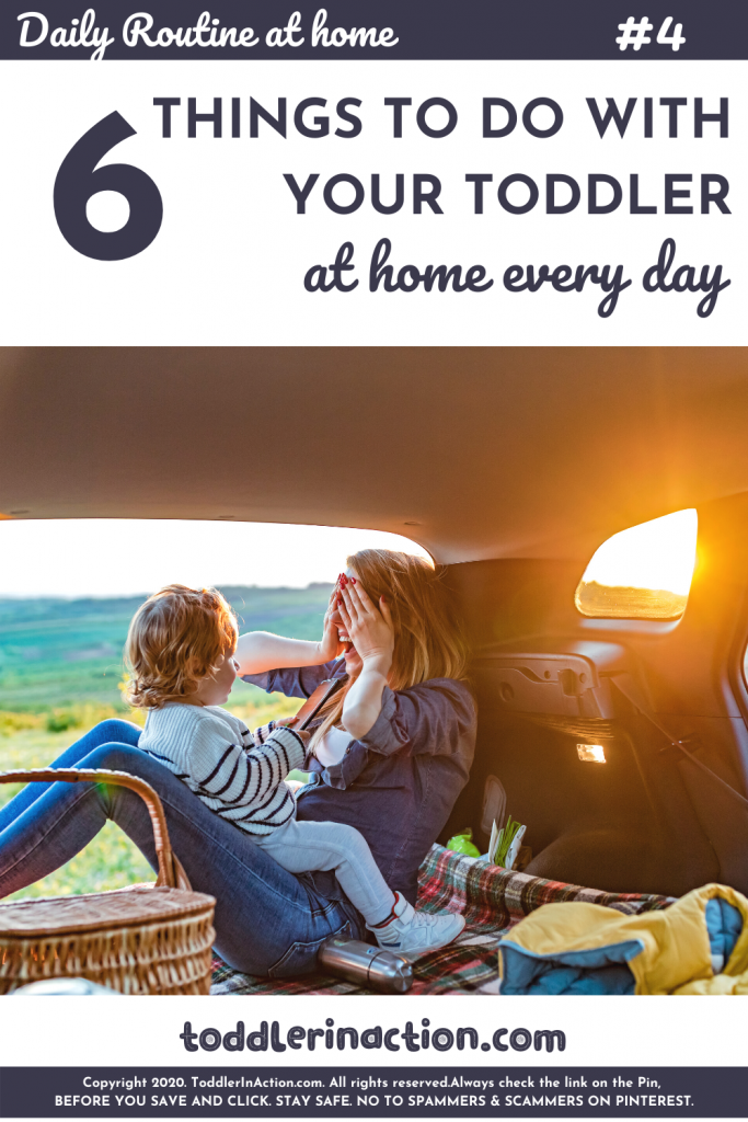 SAHM Daily Schedule, Toddler Activities at Home - Go outside