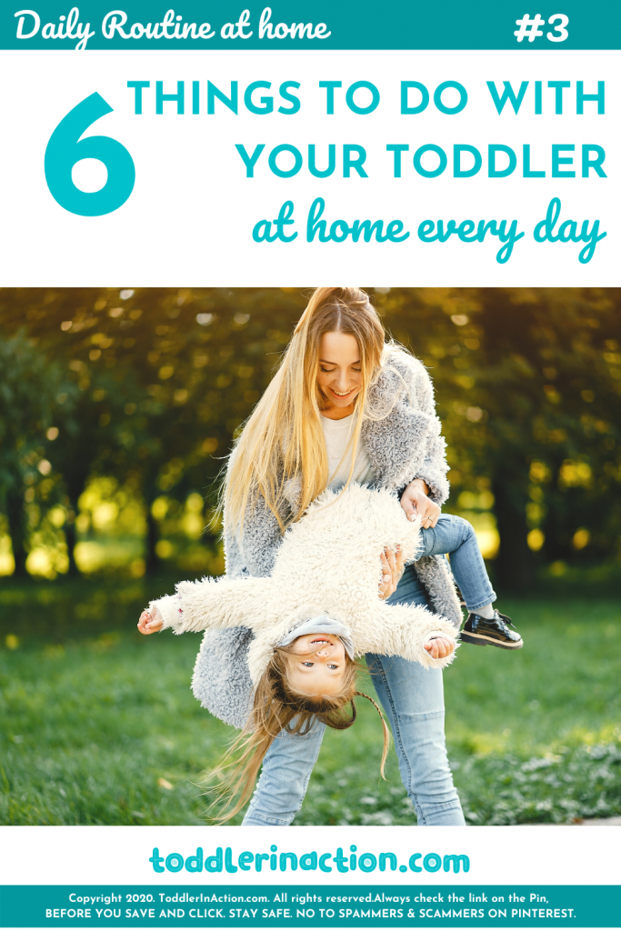 Toddler Activities at Home, Stay at Home Mom Routine Laugh