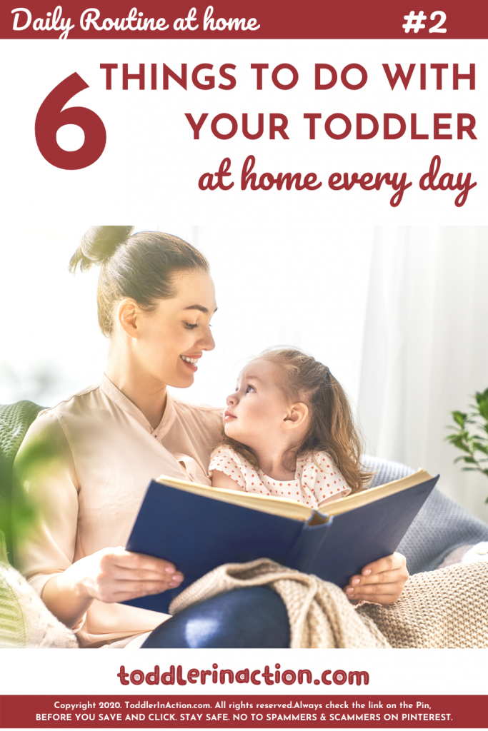 Toddler Daily Routine 6 Things you should do with your toddler every day - Reading