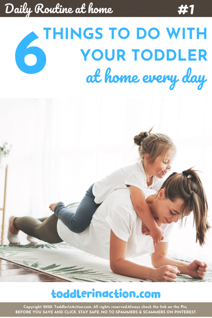 Toddler Daily Activities Routine Stay at Home Mom Workout