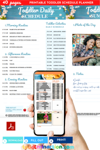 THE PERFECT DAILY TODDLER SCHEDULE 2021
