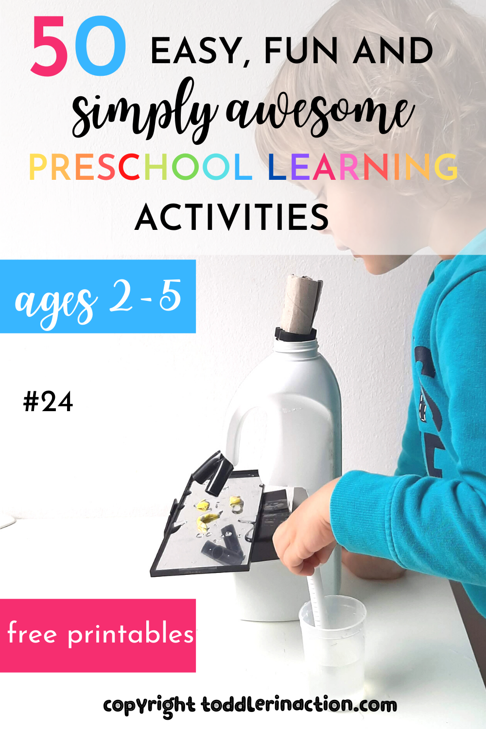 Preschool Learning Activities Microscope Station