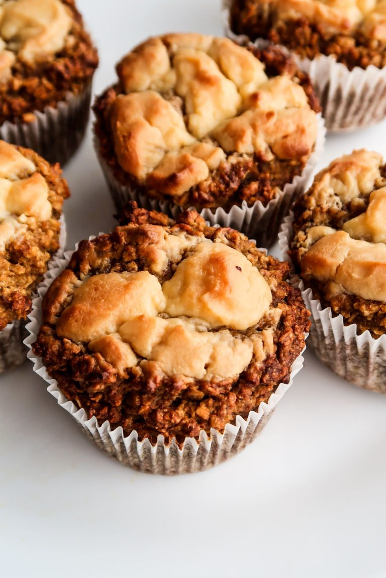 Cream cheese oatmeal muffin recipes - healthy breakfast muffins