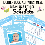EASY STAY AT HOME SCHEDULE DAILY ROUTINES FOR MOMS AND TODDLERS