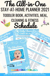 Read more about the article EASY STAY AT HOME SCHEDULE DAILY ROUTINES FOR MOMS AND TODDLERS
