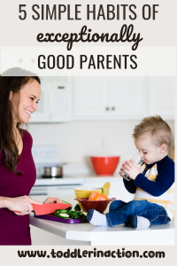 5 SIMPLE HABITS OF GOOD PARENTS