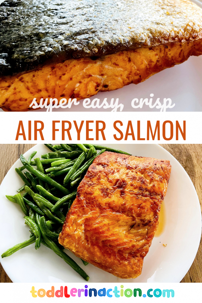 Read more about the article SALMON RECIPE QUICK, EASY, HEALTHY IN AN AIR FRYER