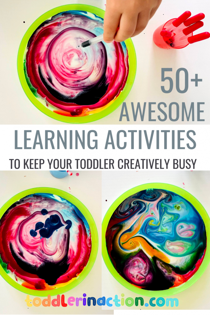 50 learning activities for kids and toddlers