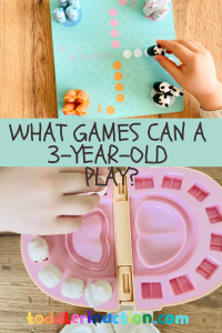 What games can a 3 year old play?