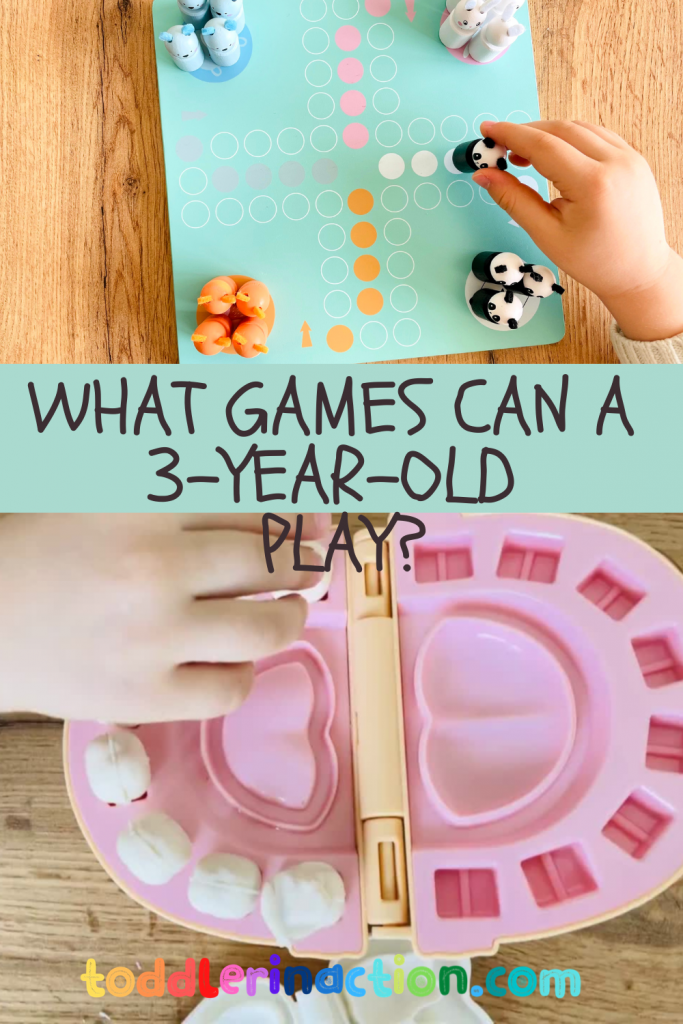 games 3 year old