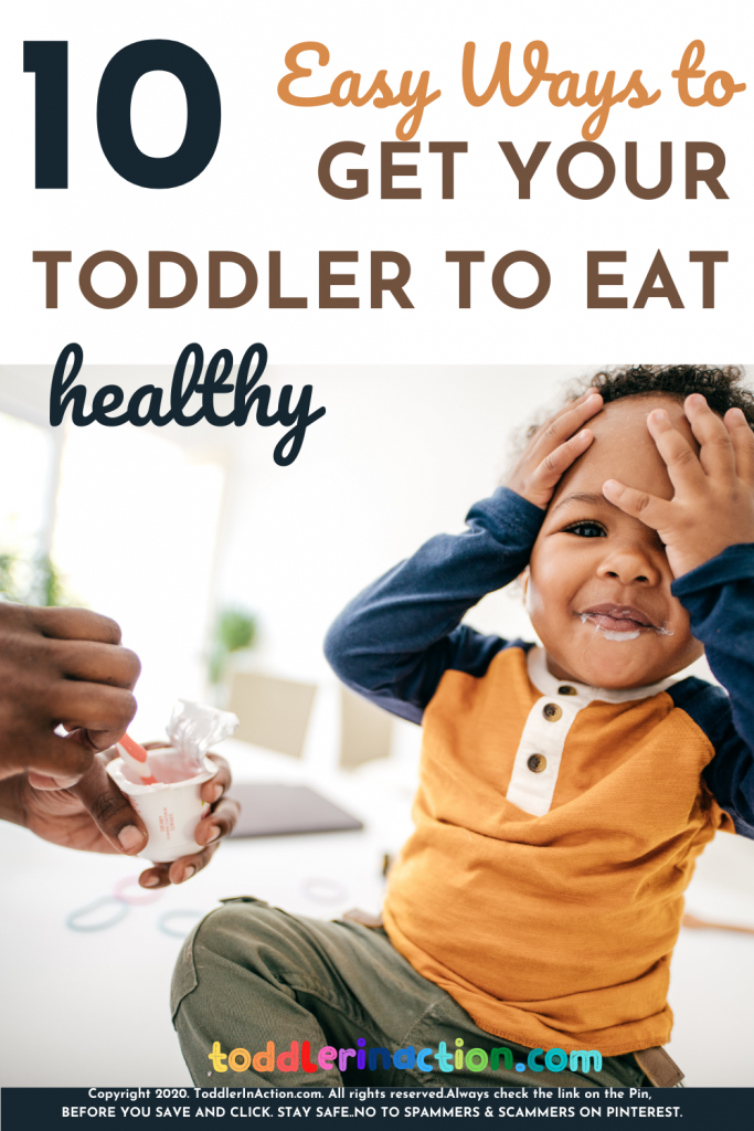 How to get a toddler to eat?